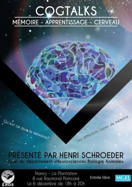 Voir le document lié  de  'Café débat CogTalk : Henri Schroeder dit tout sur la mémoire'